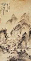 山水 镜片 纸本 -  - 中国书画 - 2013年首届艺术品拍卖会 -收藏网