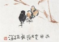 雏趣 镜心 纸本 - 4302 - 中国书画 - 2012秋季拍卖会 -中国收藏网