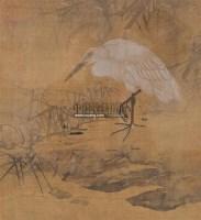 鹭鸶 -  - 墨华烟云——中国书画专场 - 2012春季文物艺术品拍卖会 -收藏网