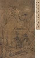 关山集素 立轴 水墨绢本 - 119011 - 中国古代书画 - 2012秋季拍卖会 -收藏网