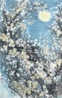 香雪海 镜架 设色纸本 -  - 中国书画 - 第359次拍卖会 -中国收藏网