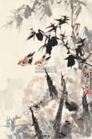花鸟 立轴 纸本 - 135254 - 中国书画 - 2013年春季中国书画专场拍卖会 -收藏网