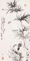 清趣 镜心 水墨纸本 - 卢坤峰 - 中国书画(二)艺海集萃 - 2012秋季艺术品拍卖会 -收藏网