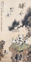 鹤寿 立轴 纸本 -  - 中国书画(三) - 第十八届联谊拍卖会 -收藏网