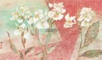 花影系列NO.27 镜心 设色纸本 - 傅春梅 - 当代中国书画 - 呼和浩特首届文物艺术精品拍卖会 -收藏网