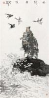 盼归图 镜心 纸本 - 126508 - 中国书画 - 2012秋季拍卖会 -中国收藏网