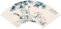仕女 - 何香凝 - 中国书画 - 2012秋季书画拍卖会 -收藏网