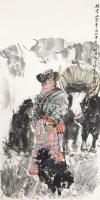 瑞雪兆丰年 托片 纸本 - 4594 - 中国书画 - 2012年第四回无底价同一藏家书画拍卖会 -收藏网