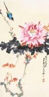 花鸟 立轴 纸本 - 135045 - 中国书画 - 2012年秋季艺术品拍卖会 -中国收藏网