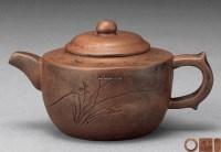 紫砂诗文壶 -  - 一期一会 听茶闻香 - 2013年春季拍卖会 -收藏网