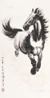 奔马 立轴 - 116101 - 中国书画 - 2013年春季文物艺术精品拍卖会 -收藏网