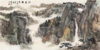 松岩听泉 镜片 -  - 瓷杂 书画拍卖 - 2012年春季艺术品拍卖会 -收藏网