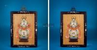 大吉大利粉彩葫芦瓷板 (一对) -  - 中国陶瓷及艺术珍玩 - 2013年春季拍卖会 -收藏网