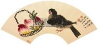 长寿平安 镜片 设色纸本 - 齐白石 - 中国书画(一) - 2012第十五届书画拍卖会 -中国收藏网