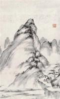 山水 镜心 水墨纸本 - 116142 - 中国书画二 - 2012春季艺术品拍卖会 -收藏网