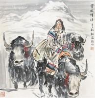 人物 立轴 纸本 - 4594 - 中国书画 - 2012秋季拍卖会 -中国收藏网