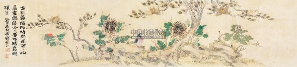 佚名 花鸟 -  - 中外书画精品 - 2012年《第一拍卖厅》冬季专场拍卖会 -收藏网