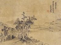 山水 立轴 纸本 -  - 古代书画专场 - 2013春季艺术品拍卖会 -收藏网
