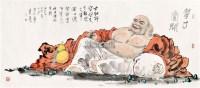 佛 横幅 纸本 - 126472 - 辽沈名贤翰墨 - 2012春季艺术品拍卖会 -收藏网