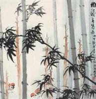 雨后春笋 立轴 设色纸本 - 116639 - 中国书画专场 - 2012春季艺术品拍卖 -收藏网