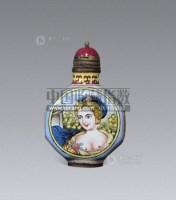 铜胎珐琅仕女鼻烟壶 -  - 艺术品(一) - 2013年春季拍卖会第428期 -收藏网