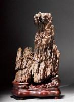 英石奇峰山 -  - 杂项专场(二) - 长物江南—2012年艺术品拍卖会 -收藏网