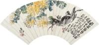 菊黄蟹肥 镜心 纸本 -  - 中国书画专场 - 北京长风2012秋季拍卖会 -收藏网