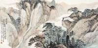 黄山秋云 镜片 设色纸本 -  - 中国书画 - 2012年秋季艺术品拍卖会 -中国收藏网