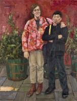 友谊 布面 油彩 - 140644 - 中国油画及雕塑 - 2013年春季拍卖会 -收藏网