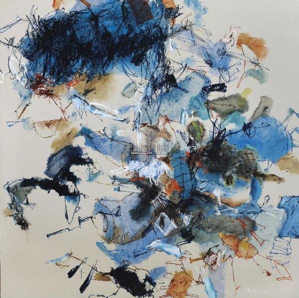阶梯 油画画布 -  - 现代及当代东南亚艺术 - 2013年春季拍卖会 -收藏网