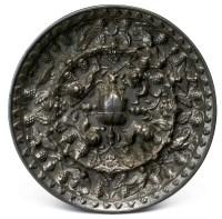 海兽葡萄镜 -  - 烁古耀今-林原美术馆铜镜 带钩旧藏专场 - 2013年春季拍卖会 -收藏网