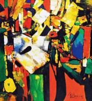 怒放的生命 油彩 画布 - 金纪发 - 当代艺术和油画雕塑专场 - 2012秋季艺术品拍卖会 -中国收藏网