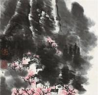 江南小景 镜心 设色纸本 - 139817 - 中国书画一 - 2012春季艺术品拍卖会 -收藏网