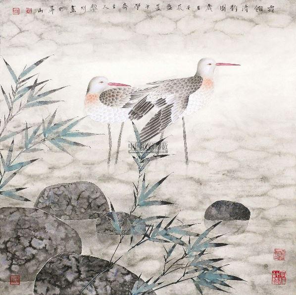 出版有《水乡花鸟画法》,《工笔仙鹤画法》天津杨柳画社出版,《詹黎明