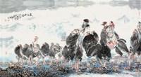 昆仑驼铃 镜片 设色纸本 - 123125 - 云桂斋藏品专场 - 2012四季拍卖(第二期) -收藏网