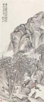策杖游山 立轴 设色纸本 - 149180 - 中国书画二 - 2012春季艺术品拍卖会 -收藏网