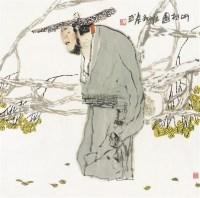 听松图 镜片 纸本 - 袁武 - 中国书画(一) - 2012年夏季书画精品拍卖会 -中国收藏网