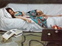 白玫瑰 油彩  画布 - 154487 - 中国油画雕塑 - 2012年春季大型艺术品拍卖会 -收藏网