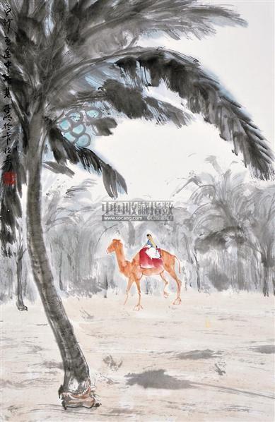 人物 立轴 设色纸本 - 2538 - 中国书画 - 2012夏季艺术品拍卖会 -收藏网