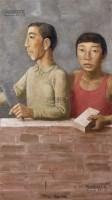 大工小工 布面 油彩 - 段建伟 - 中国油画及雕塑 - 2013年春季拍卖会 -收藏网