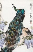 孔雀 镜心 纸本 - 139872 - 中国书画 - 2012秋季拍卖会 -中国收藏网