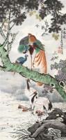五伦图 立轴 纸本 - 朱文侯 - 中国书画(一) - 2012年春季艺术品拍卖会 -收藏网