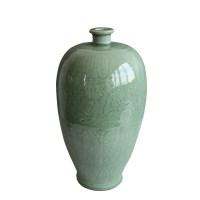 黄地矾红云龙纹天球瓶 -  - 瓷器专场 - 光大国际•艺术品拍卖会  -中国收藏网