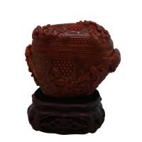 红翡翠摆件 -  - 玉器专场 - 光大国际•艺术品拍卖会  -中国收藏网