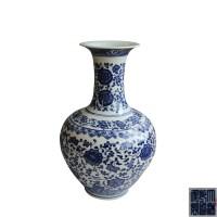 青花缠枝瓶 -  - 瓷器专场 - 光大国际•艺术品拍卖会  -中国收藏网