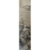 梅兰芳款山水画 -  - 字画专场 - 光大国际•艺术品拍卖会  -中国收藏网