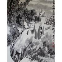 李苦寒款黑猫图 -  - 字画专场 - 光大国际•艺术品拍卖会  -中国收藏网