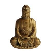 和田白玉描金佛像 -  - 玉器专场 - 光大国际•艺术品拍卖会  -中国收藏网