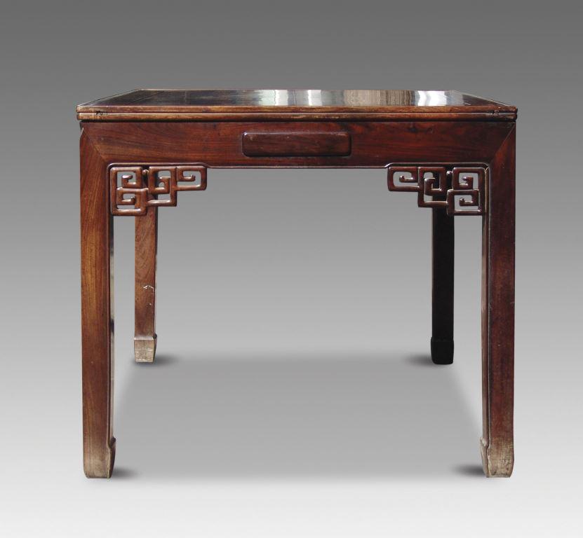 红木牌桌 - - 古典家具专场