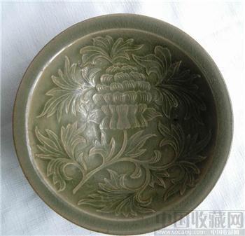 耀州窑刻花碗-收藏网